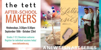 After-School Makers: Collaborative Art with Francisco Corbett
