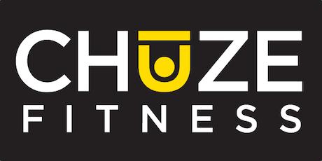 Chuze Fitness Pre-Sale Happy Hour tickets