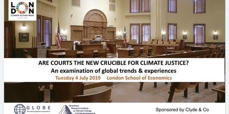 ARE COURTS THE NEW CRUCIBLE FOR CLIMATE JUSTICE? tickets