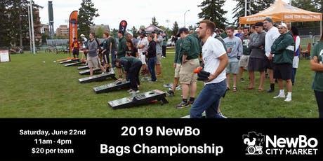 2019 NewBo Bags Championship tickets