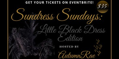 Sundress Sundays: Little Black Dress Edition