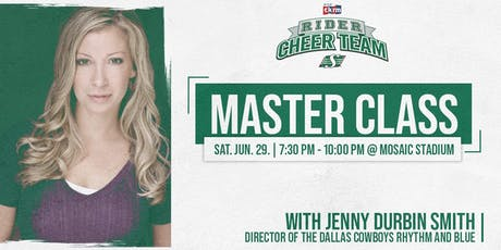 Rider Cheer Team Masterclass with Jenny Durbin Smith tickets