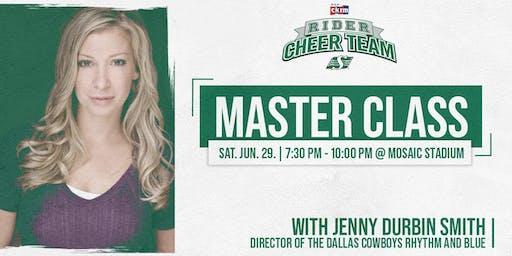 Rider Cheer Team Masterclass with Jenny Durbin Smith