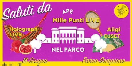 APE NEL PARCO #3 biglietti