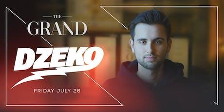 Dzeko | The Grand Boston 7.26.19 tickets