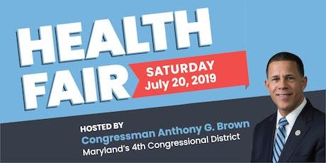 Health Fair Hosted by Congressman Brown tickets