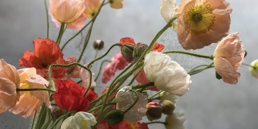 In-Season Flower Arranging: Poppies
