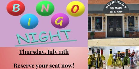 Bingo Night at Deerfield's tickets