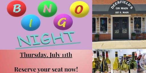 Bingo Night at Deerfield's