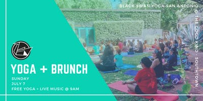 Yoga + Brunch w/ Black Swan Yoga at The Good Kind Southtown