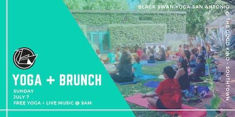 Yoga + Brunch w/ Black Swan Yoga at The Good Kind Southtown tickets