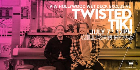 Twisted Tiki with Gilligan Moss tickets