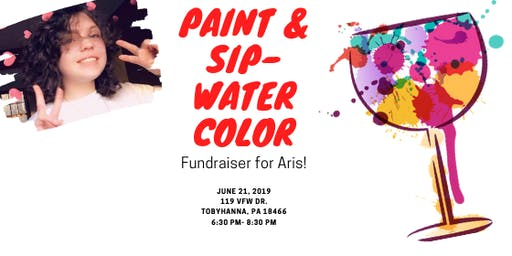 Paint & Sip- Fundraiser For Aris