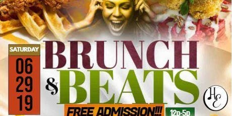 Brunch and Beats tickets