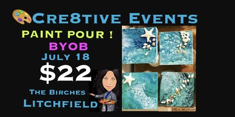 $22 Paint Pour Night @ The Birches tickets