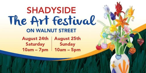 23rd Annual Shadyside...The Art Festival on Walnut Street