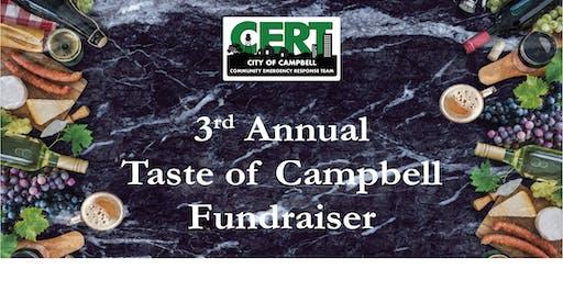 3rd Annual Taste of Campbell Fundraiser