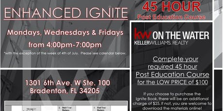Enhanced Ignite 45 Hour Post Education Course tickets
