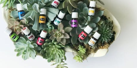 Succulent Diffuser Workshop with Young Living Essential Oils tickets
