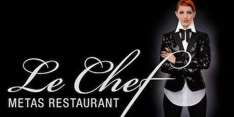 "Silvestergala im ""Le Chef Metas Restaurant"" Tickets"