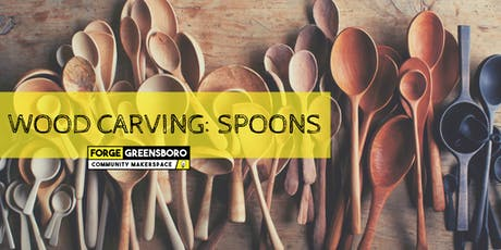 Wood Carving: Spoons tickets