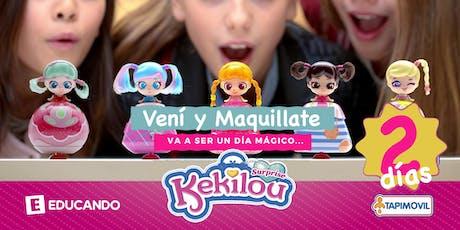 ¡Vení y Maquillate! Make Up Kekilou biglietti