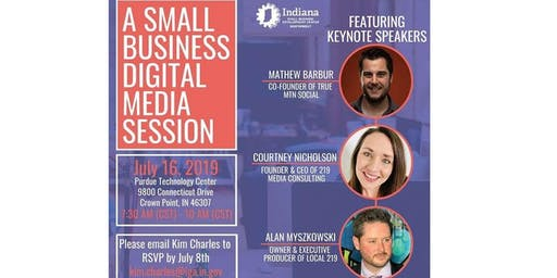A Small Business Digital Media Session