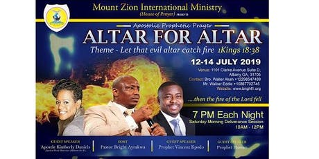 Altar for Altar Conference			Let the Evil Altar Catch Fire tickets