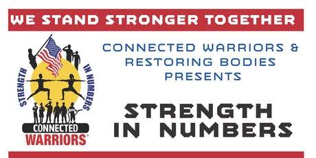 CONNECTED WARRIORS: STRENGTH IN NUMBERS tickets