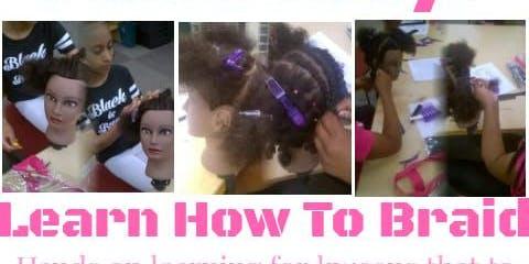 Kween Academy: Beginner's Braiding Course Level 1&2