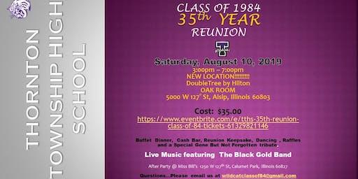 TTHS 35th Class Reunion- Class of 84