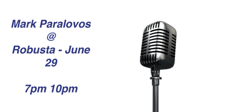 An Evening of Entertainment with Mark Paralovos tickets