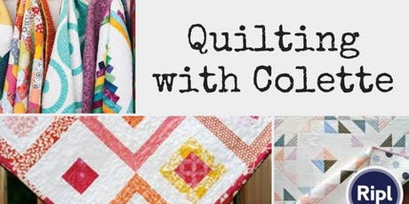 Quilting With Colette Workshop tickets