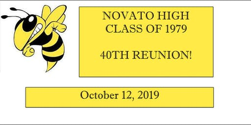 Novato High Class of 1979  40th Reunion