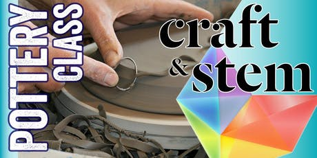 Fundamentals of Clay - Adult Pottery Class - Saturday Evening tickets