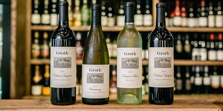 Groth Wine Tasting tickets