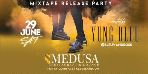 YHRL present Yung Bleu live in concert and mixtape party