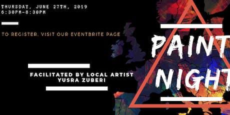 Paint Night! at Studio.89 tickets