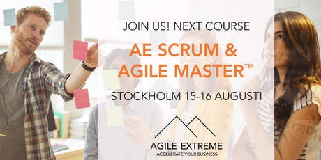 AE Scrum & Agile Master™ tickets