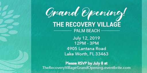 The Recovery Village Palm Beach Grand Opening