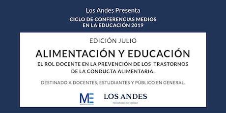 Conferencia Alimentación y Educación entradas