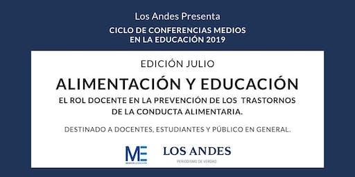 Conferencia Alimentación y Educación