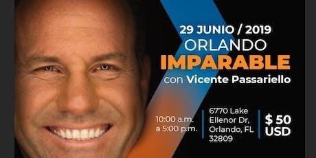 IMPARABLE > SEMINARIO DE VICENTE PASSARIELLO (ORLANDO) tickets