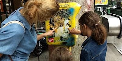 BALADE STREET-ART DES HALLES À BEAUBOURG (en fami