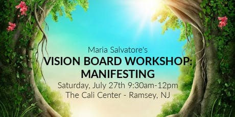 Vision Board Workshop: Manifesting tickets