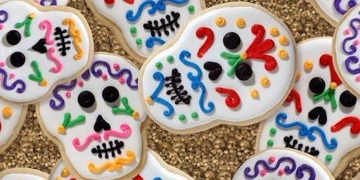 "Get Arty ""Sugar Skulls Week"" P1-7 10 am S1-4 11.30am"