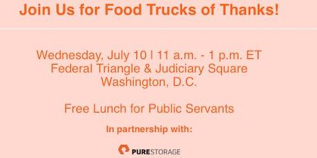 Food Trucks of Thanks tickets