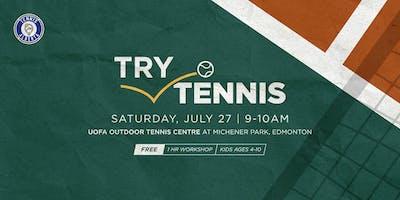 Try Tennis Kids Workshop