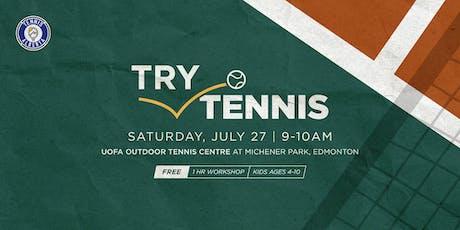 Try Tennis Kids Workshop  tickets