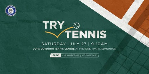 Try Tennis Kids Workshop
